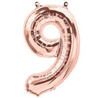 "34"" Rose Gold Balloon - Mylar # 9"