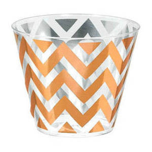 Premium Quality Tumblers - Rose Gold Chevron