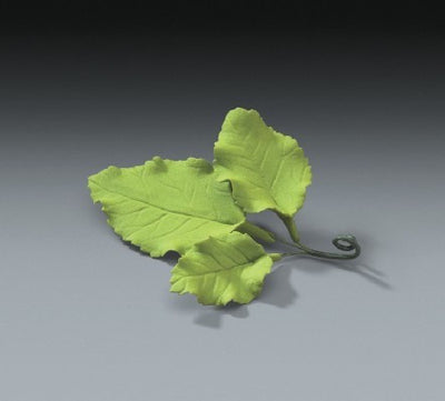 Gum Paste -Cake Topper - Rose Leaves - 3 Piece