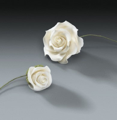 Gum Paste - Cake Topper - Classic Rose Set - 4 Piece