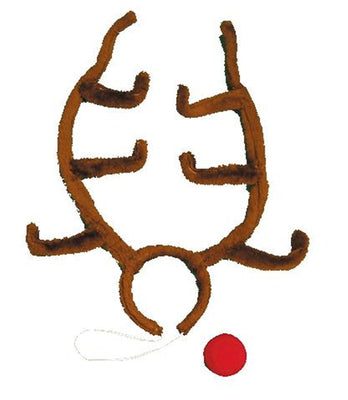Christmas Rudolph Reindeer Antlers Accessory Kit