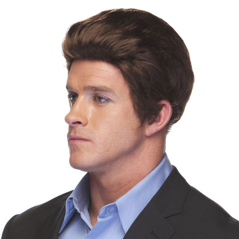 Brown Salesman Men's Wig