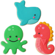 Sea Critters Cookie Cutter Set