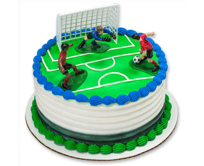 Soccer Team Cake Decorating Kit