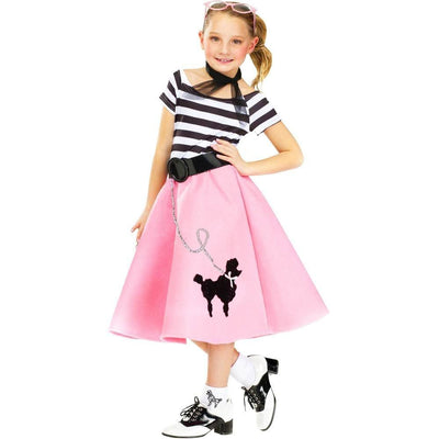 Kid's Soda Shop 1950's Poodle Costume
