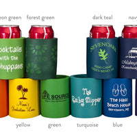 Custom Soft Foam Can Huggers (Koozies) | 12 CT