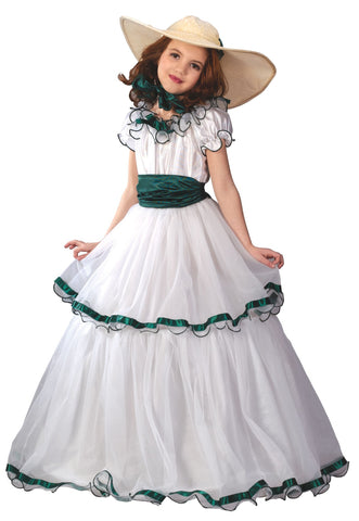 Scarlett O'Hara Childs Southern Bell Costume