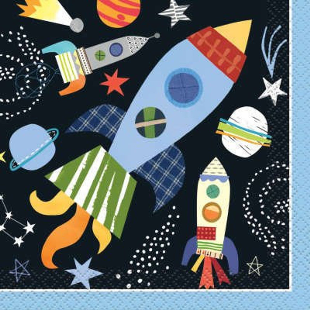 Outer Space Beverage Napkins