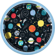 Outer Space Dessert Party Plates