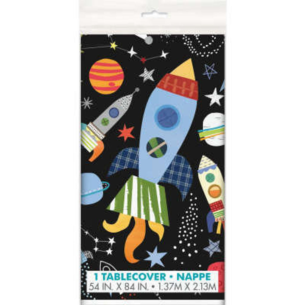 Outer Space Plastic Tablecover