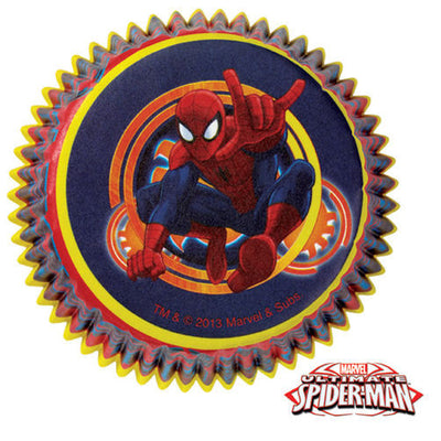 Ultimate Spider-Man Baking Cups 50 Count