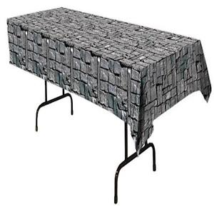 Stone Wall Table Cover-