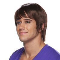 Brown Surfer Dude Adult Wig