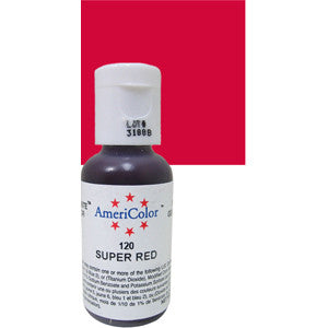 AmeriColor Super Red Gel Paste .75oz