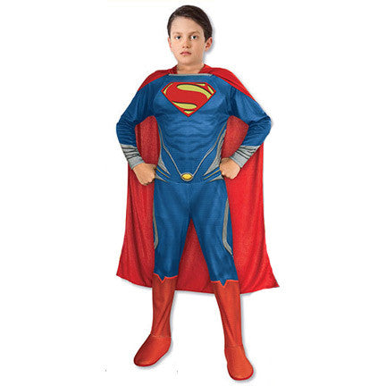 Superman Man of Steel Kid's Costume