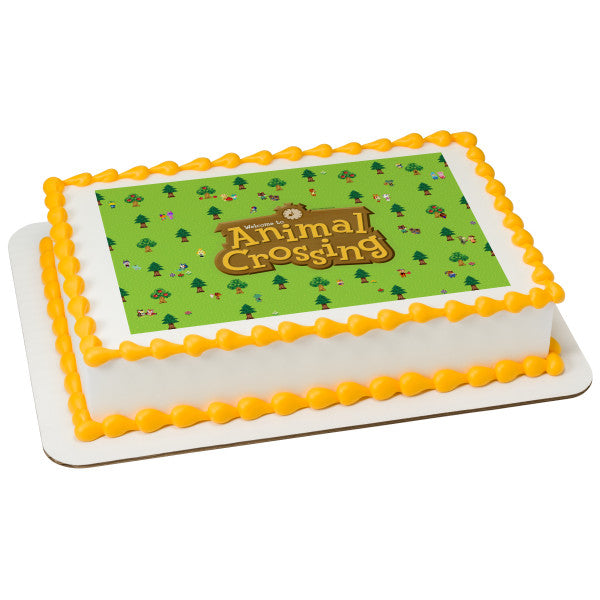 Animal Crossing Edible Image