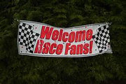 Race Party Banner - 60 inches x 20 inches