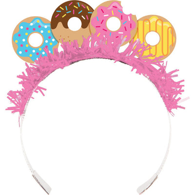 Fun Donut Party Hat Tiaras