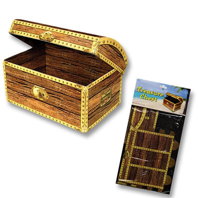 Treasure Chest Decoration/ Centerpiece/ Small - 8.8 x 5.5 in.