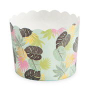 Tropical Leaves Treat Cups/ 18 Count/ 2.75 x 2""