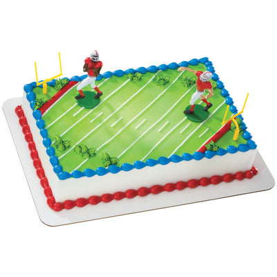 Touchdown Football Cake Topper Kit