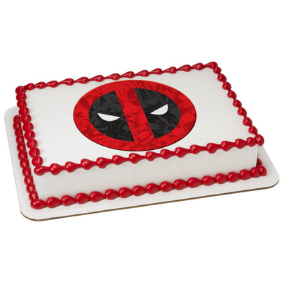 Deadpool Edible Image