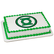 The Green Lantern Edible Image