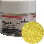 Disco Glitter Yellow Rainbow