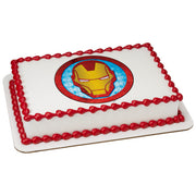 Iron Man Edible Image