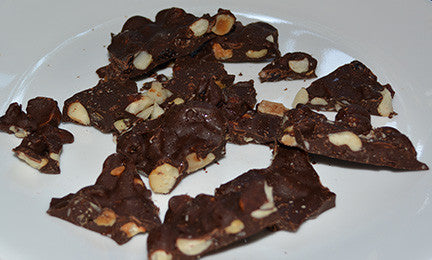 Roasted Nut Bark Candy