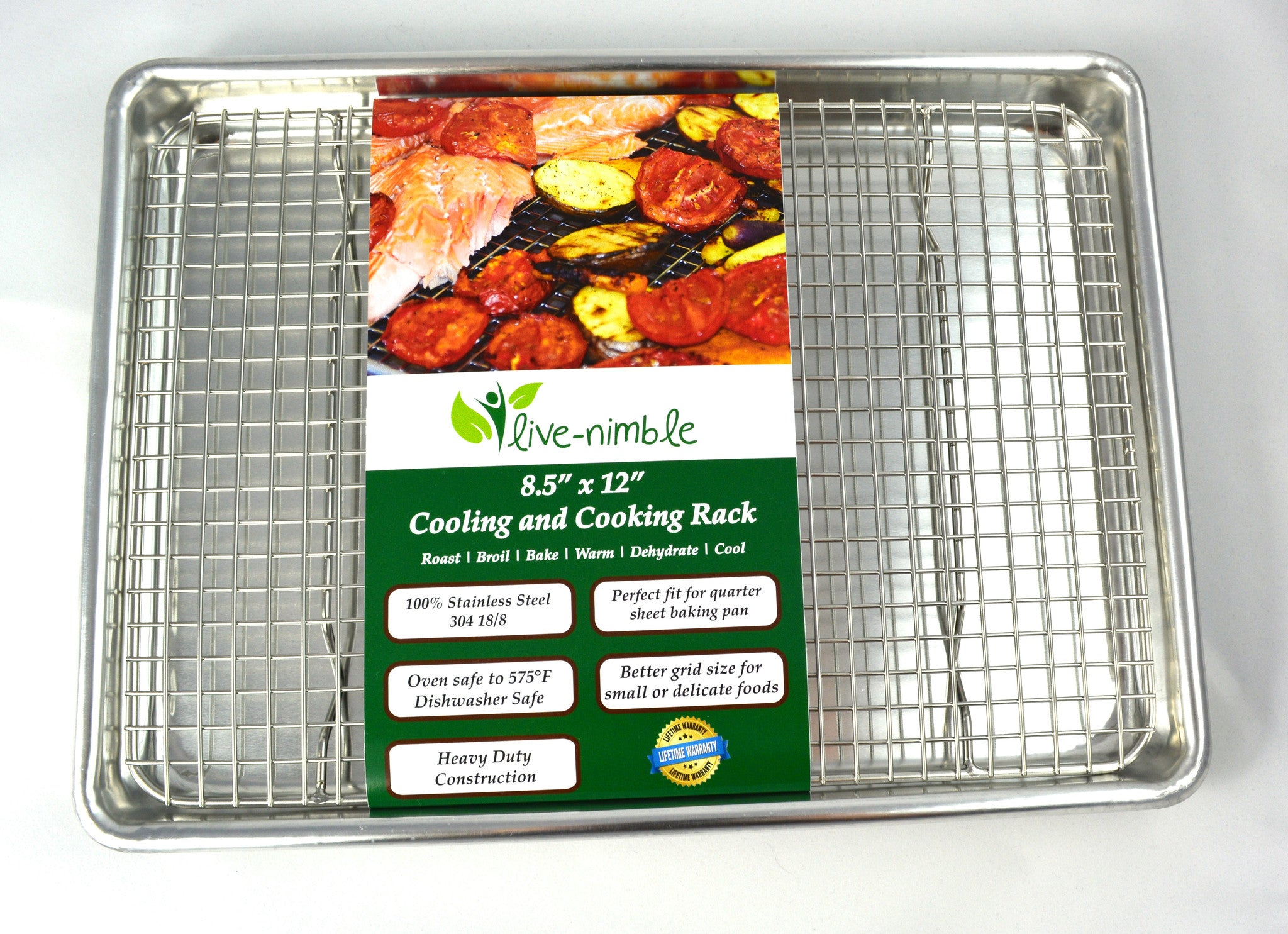 of pack silicone ip for nonstick red rack oval com turkey roasting walmart