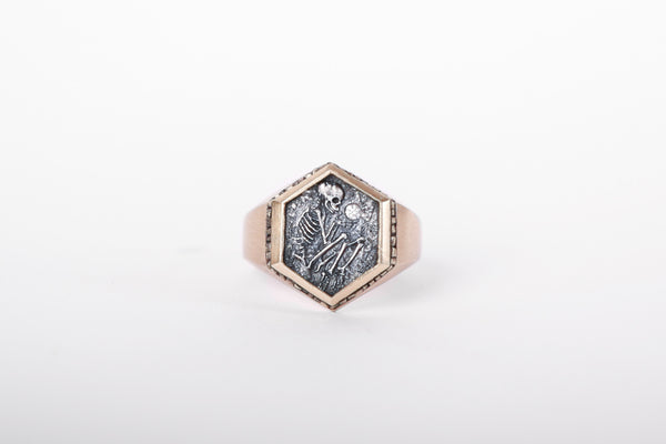DMD Metal Shallow Grave Ring