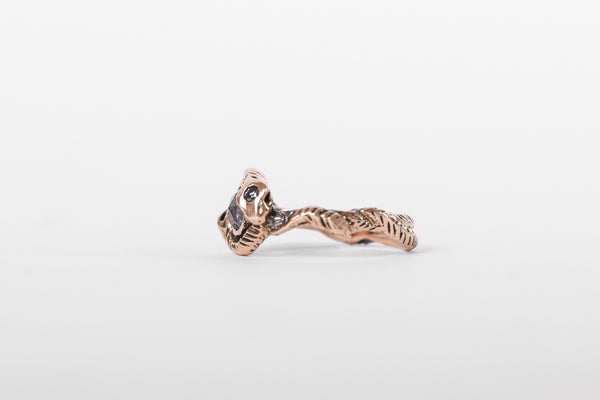Army of Rokosz One-of-a-Kind Diamond Snake Ring