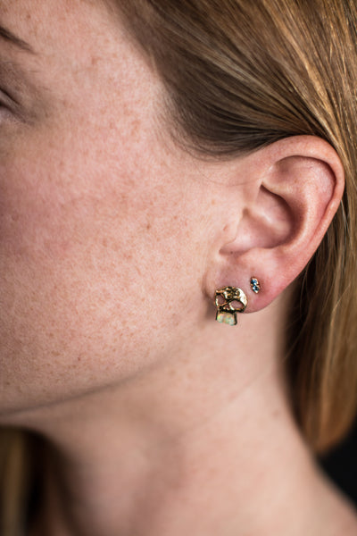 WWAKE Two-Step Earrings
