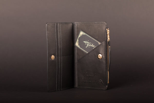 Animal Handmade Night Safari Zip Wallet