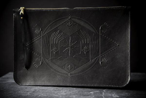 Animal Handmade Fear No Future Clutch