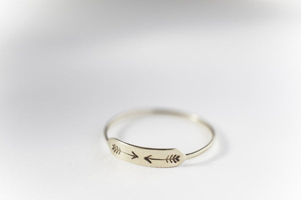 Bittersweets NY Arrow Ring