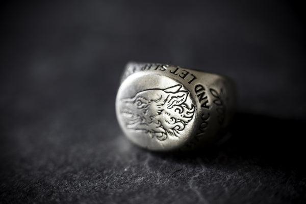 Digby & Iona Dogs of War Signet Ring
