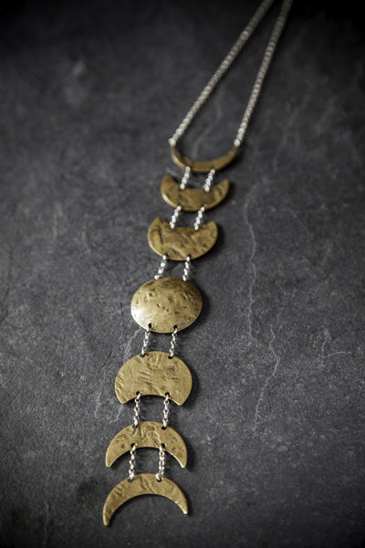 Army of Rokosz Moon Phases Necklace