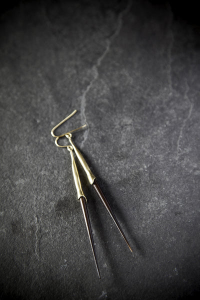 K/LLER Quill Earrings