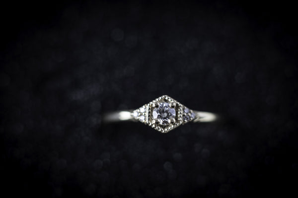 Eden Philippa White Diamond Drea Ring