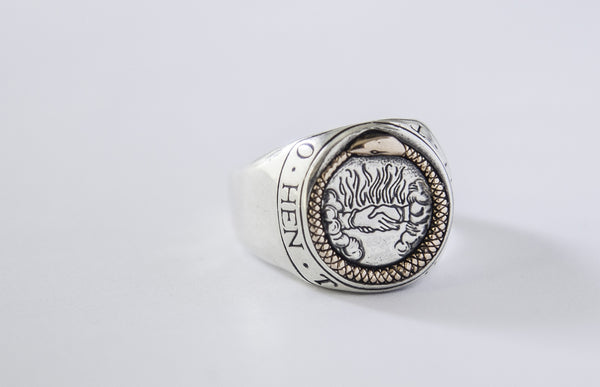 Digby & Iona Ouroboros Signet Ring