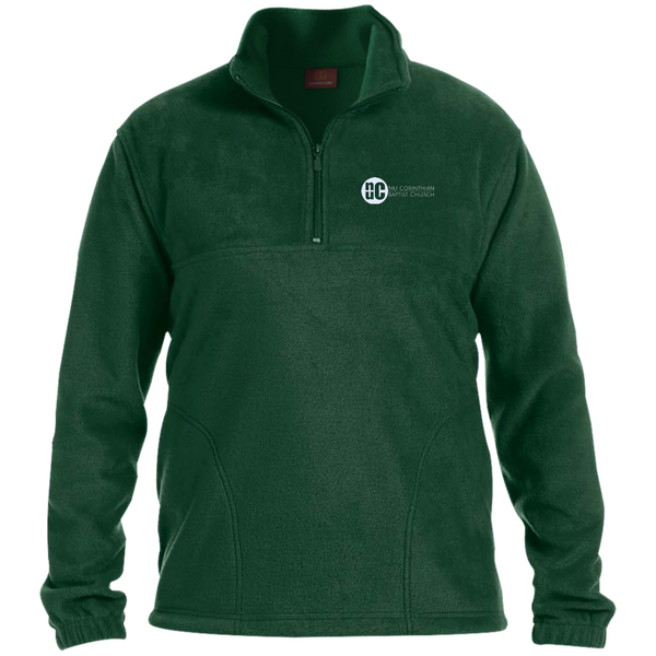 NuCBC Embroidered 1/4 Zip Fleece Pullover