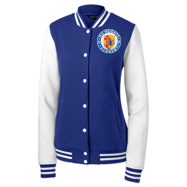 NHA Women's Fleece Letterman Jacket