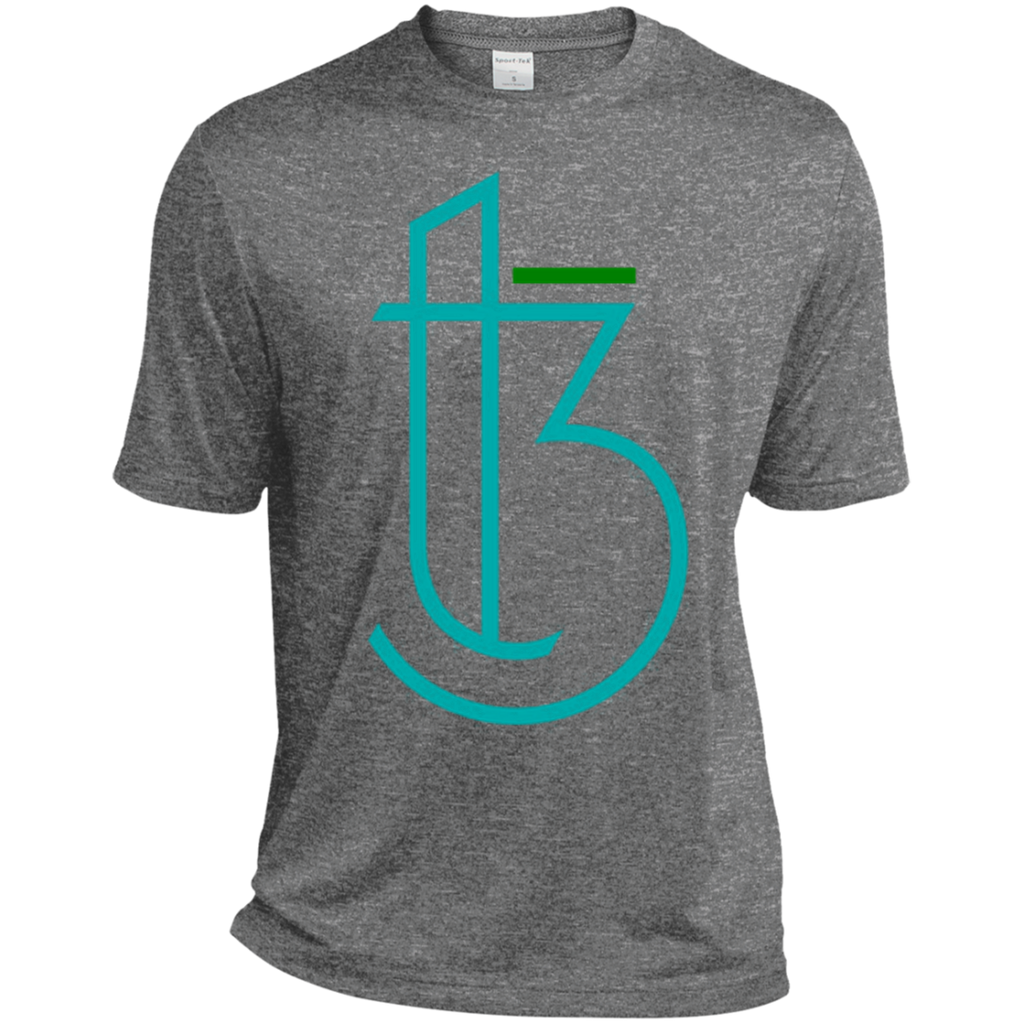 T3I Sport-Tek Heather Dri-Fit Moisture-Wicking T-Shirt