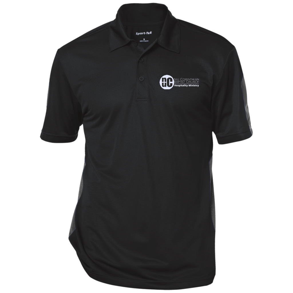 Hospitality Performance Textured Three-Button Polo