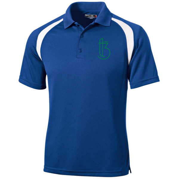 T3I T476 Sport-Tek Moisture-Wicking Tag-Free Golf Shirt
