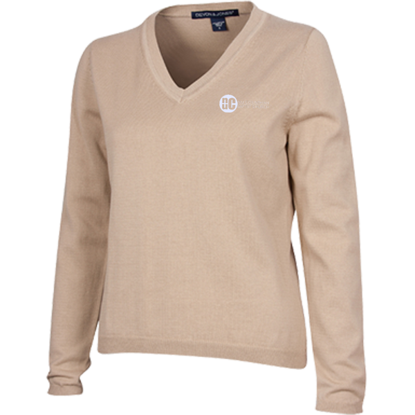 NuCBC Ladies V-Neck Sweater