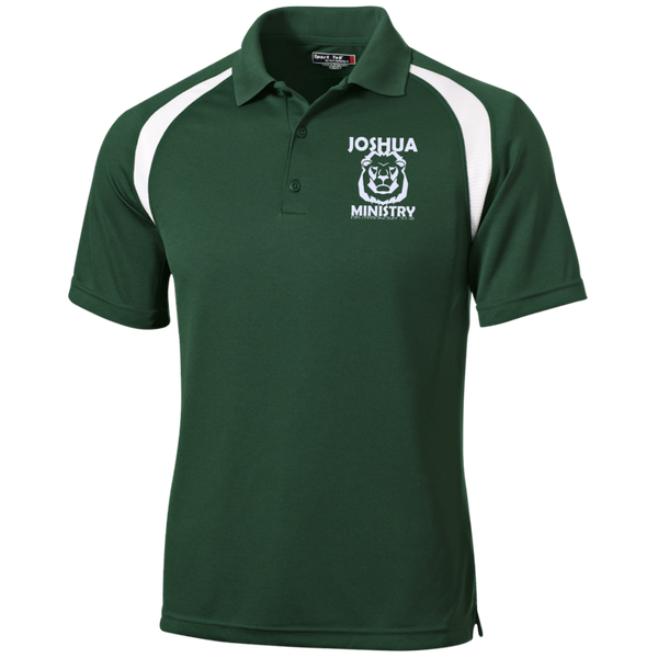 Joshua Ministry Moisture-Wicking Tag-Free Golf Shirt