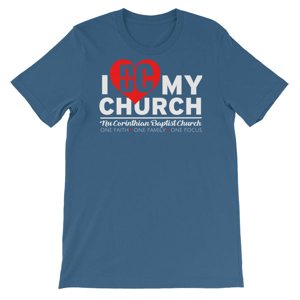 I Love My Church (unisex)